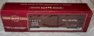 Gauge  Bachmann Big Haulers, Item No. 93348 Rio Grande Box Car