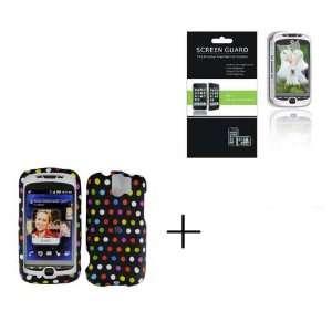 HTC MYTOUCH SLIDE 3G Rainbow Dot Premium Designer Hard Protector Case