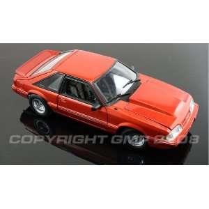 1989 FORD MUSTANG DRAG CAR ~ CANDY COPPER ORANGE METALLIC