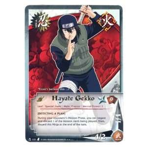 Naruto TCG Curse of the Sand N 122 Hayate Gekko Rare Card