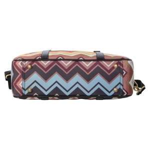 MISSONI FOR TARGET Overnight Travel Tote Bag Luggage Multi color Zig