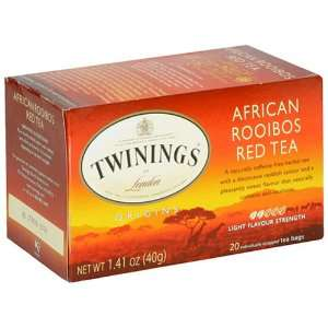 Twinings African Roobios Red Bush Origins Tea 20 Count: