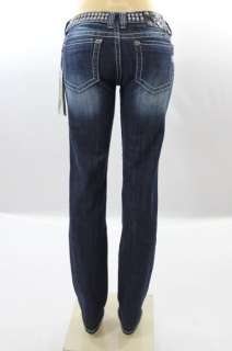 BNWT Miss Me Jean Ladies Studs Skinny Cut Jeans Pants