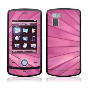 Pink Lines Decorative Skin Cover Decal Sticker for LG Shine CU720 Cell
