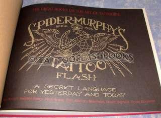 SPIDER MURPHYS TATTOO FLASH Book Gun Kit Needles Machine Ink Vialetto