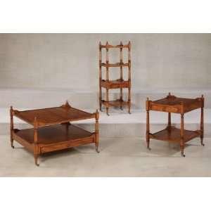 Hammary Furniture Wheaton Hall Square Coffee Table Set