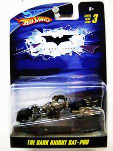 HOT WHEELS THE DARK KNIGHT BAT POD 150 SERIES 3