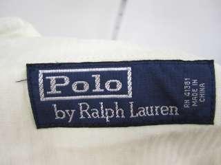 POLO RALPH LAUREN Mens Khaki Linen Pants Sz 35/30