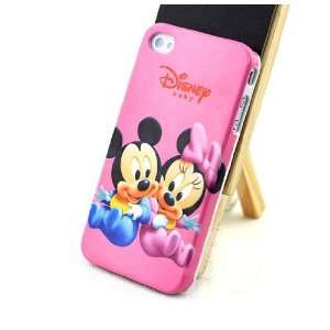 iPhone 4G Baby Mickey&Minnie Mouse Style Hard Case/Cover