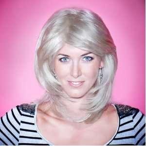 Wig   High Quality Kanekalon Synthetic Wigs for Women, Like Human Hair
