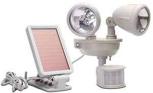 MAXSA Innovations MXS 40218 8 LED Solar Power Motion Activated Light