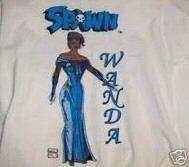 Spawns Girl Wanda T Shirt/Todd McFarlane/Image Comics