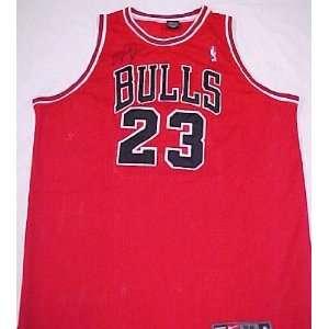 Michael Jordan Hand Signed Autographed Authentic Chicago