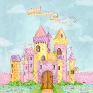 Oopsy daisy Fairy Castle Wall Art 39x39