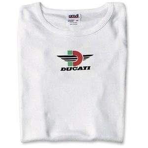 MetroRacing Womens Ducati T Shirt   Large/Black