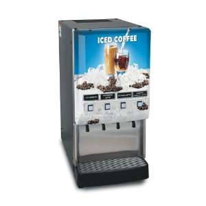 Bunn JDF 4S LD 4 Flavor Cold Beverage Iced Coffee Dispenser