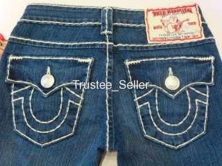 True Religion Women Jeans Super T EdgeStitch Del Mar 23