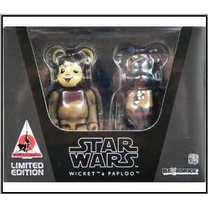 Medicom Star Wars Japan Exclusive Ewoks  Wicket & Paploo