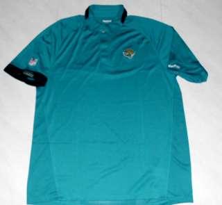 Jacksonville Jaguars Sideline Polo Shirt 2XL Reebok NFL Embroidered