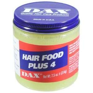 DAX Hair Food Plus 4 7.5oz/214g: Beauty