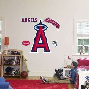 Los Angeles Angels of Anaheim Logo Fathead Wall Decal