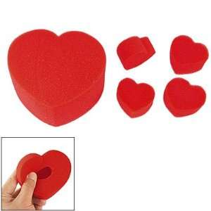 Multiplying Red Sponge Hearts Ball to Jumbo Magic Trick Toys & Games