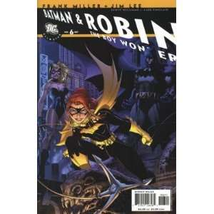 All Star Batman and Robin #6 Jim Lee Cover MILLER Books
