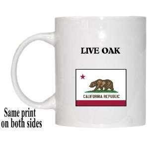 US State Flag   LIVE OAK, California (CA) Mug Everything Else