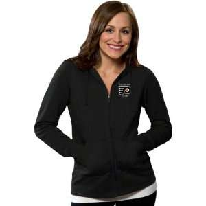 Philadelphia Flyers Womens Black Signature Full Zip