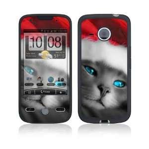 Droid Eris Skin Decal Sticker   Christmas Kitty Cat