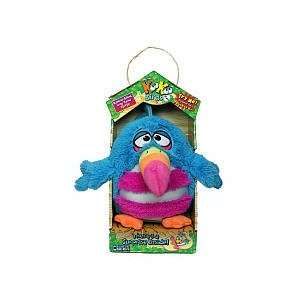 KooKoo Birds 6 Inch Plush Rainbow Billed, Long Tailed KooKoo