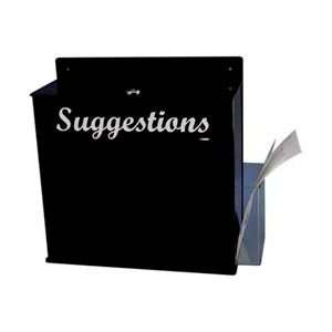 NMC Wall Mount Blk Acrylic Suggestion Box Home Improvement