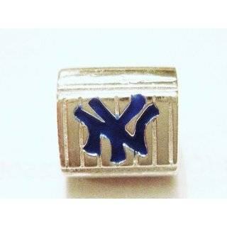 Silver Boston Red Sox Logo Charm for Pandora bracelets Jewelry
