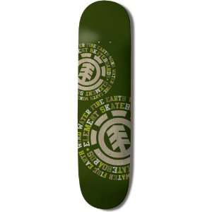 Element Bamboo Skateboard Deck (Eco Dispersion, 7.75 Inch