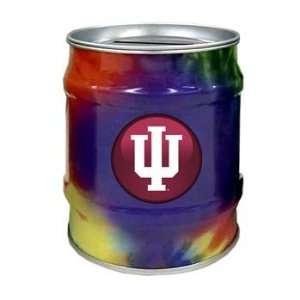 Indiana Hoosiers IU NCAA Tie Dye Tin Bank Sports