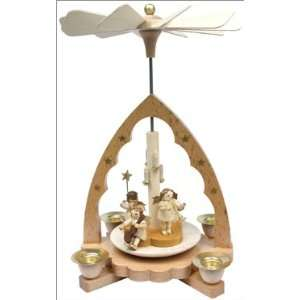 Angel Natural Pyramid Candle Holder