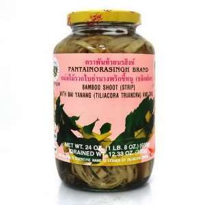 Pantai Norasingh Bamboo Shoot (Strip) In Bai Yanang And Chili 24 oz