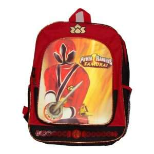Power Rangers Samurai Jayden Red Ranger Backpack Sports