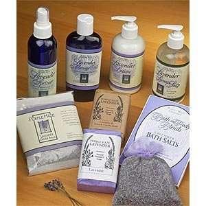 Purple Haze Lavender Body Care Gift Box
