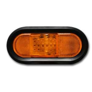 Pacific Dualies 60503 6 Inch Amber LED Oval Turn Signal