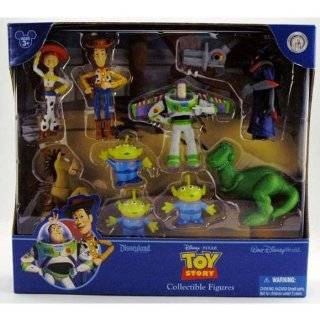 Disney Toy Story Set of 4 Cake Toppers Toy Figurines Woody