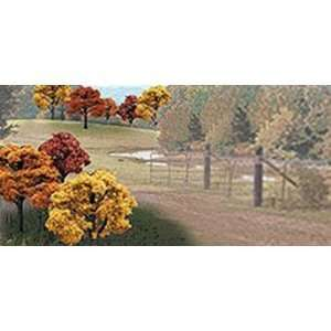 Scenics WS 1576 2 in.   3 in. Fall Deciduous Trees: Toys & Games