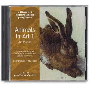 Wilton Art Appreciation CD ROMs   Animals in Art 1 Art History