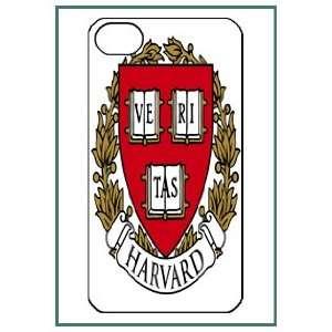 Harvard iPhone 4 iPhone4 Black Designer Hard Case Cover