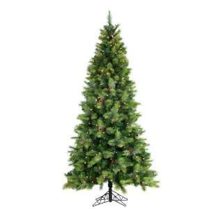 7.5 Pre Lit Hard Needle Monroe Fir Artificial Christmas Tree