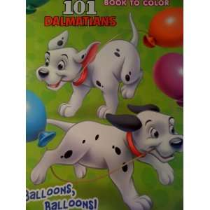 101 Dalmatians Big Fun Book to Color (Cover Art Varies) Toys & Games