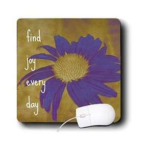 Joy Every Day  Inspirational Quotes  Art   Mouse Pads Electronics