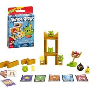 Angry Birds Knock on Wood Game and Angry Birds Card Game
