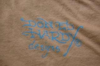 Ed Hardy Mens T Shirt Love Kills Slowly SLV T Lg NWT