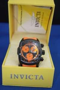 Mens Invicta 6727 Lupah Revolution Orange Watch New